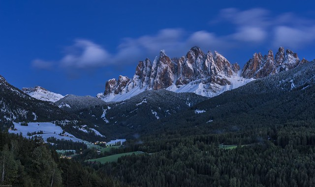 *Dolomites @ Blue Hour*
