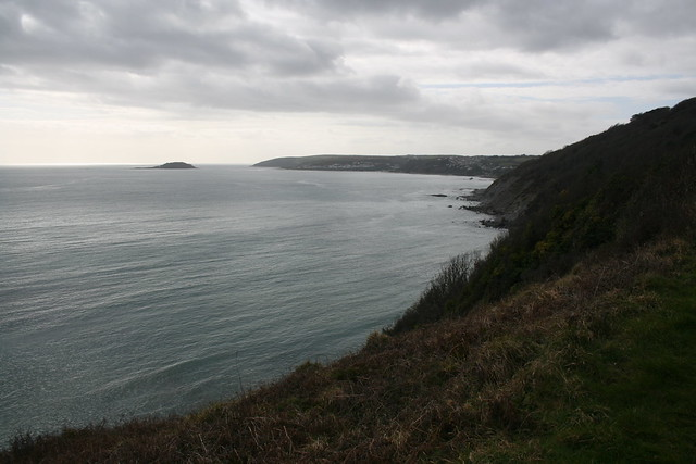 The coast path near Seaton