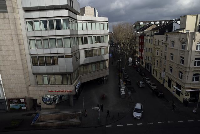 at a corner of Düsseldorf