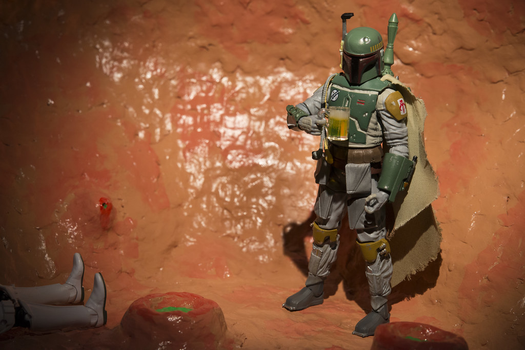 Boba Fett + The Sarlacc 23 - Miller Time | Relaxing after a