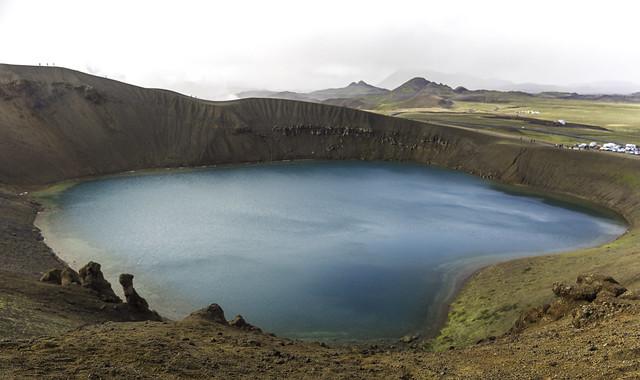 Krafla, Viti crater