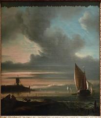 BACKHUYSEN Ludolf - Vue du Bastion Het Blauwhoofd, Amsterdam - 0