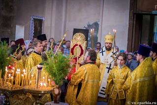 Литургия в Ильинском соборе 240