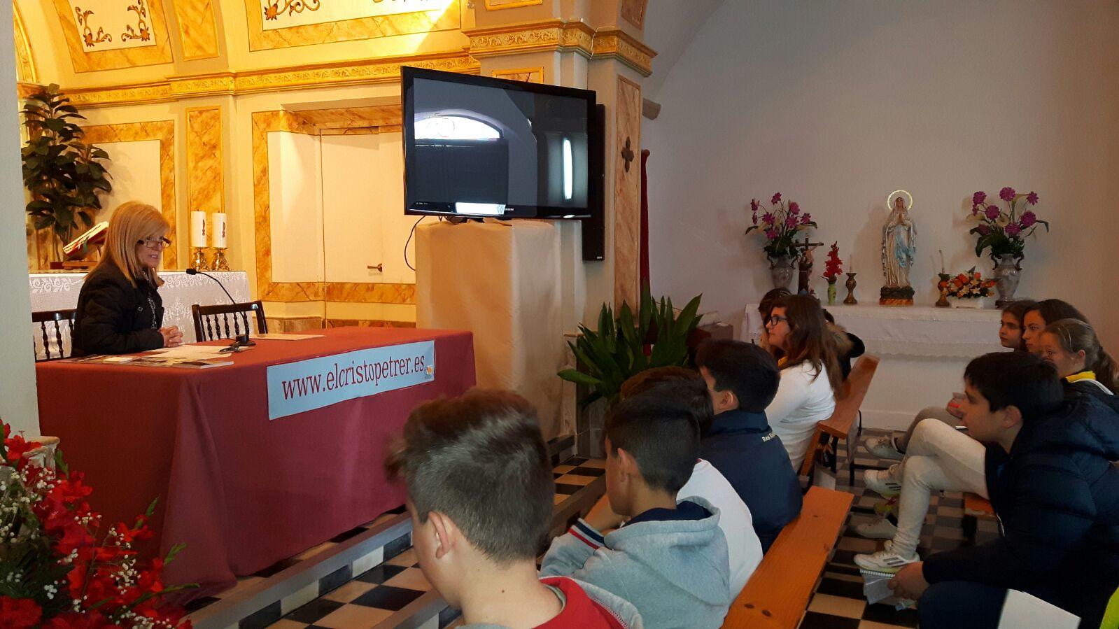 (2016-03-18) - aVisita ermita alumnos Pilar, profesora religión 9´Octubre - María Isabel Berenguer Brotons (07)