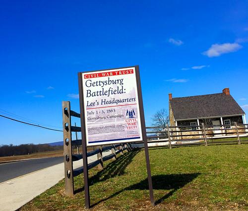 'Gettysburg Battlefield - Lee's Headquarters' (PA) March 2 ...