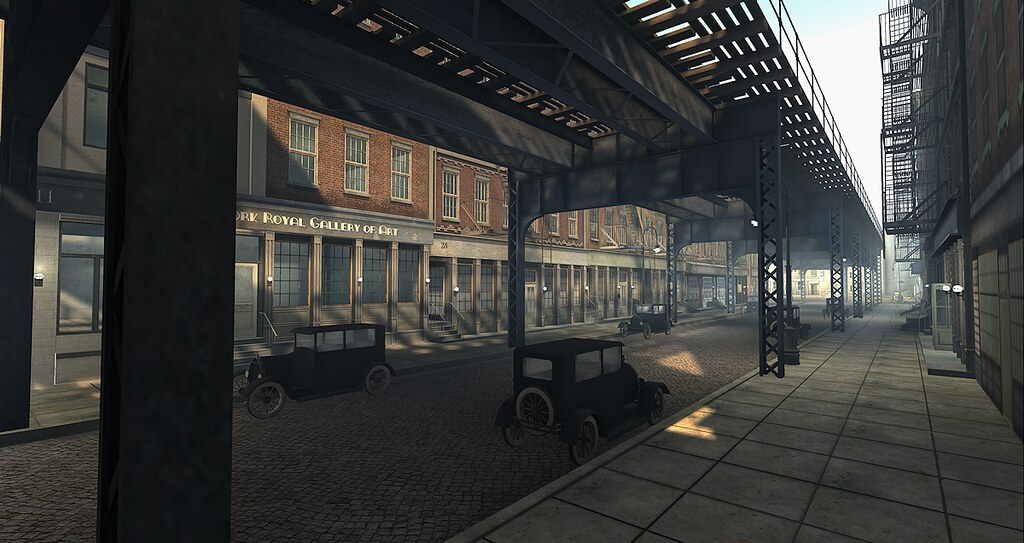 1920s-New-York Second life | Scheduled to close 30th April