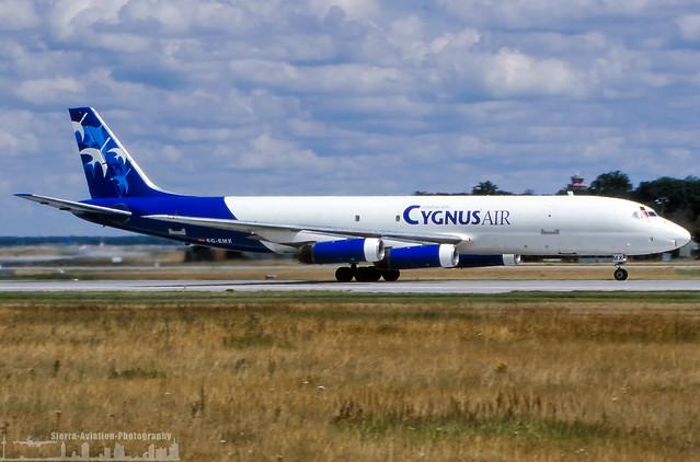 EC-EMX Cygnus Air Cargo Douglas DC-8-62(F) (FRA - EDDF - Frankfurt)