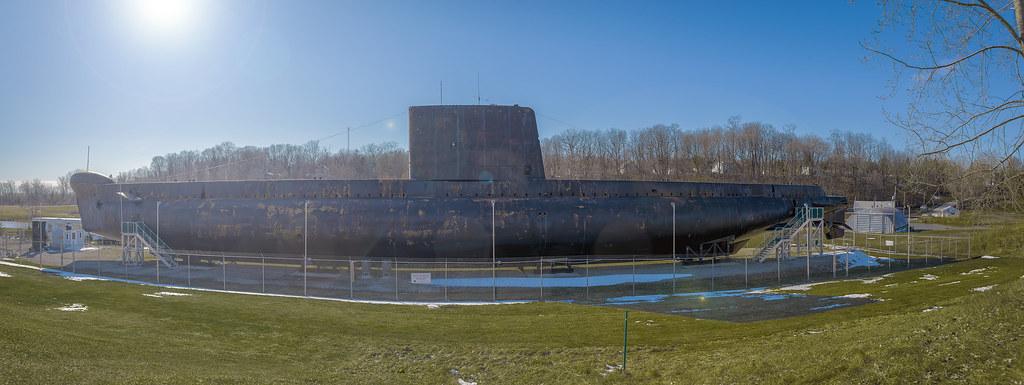 HMCS Ojibwa in Port Burwell (Ontario, Canada)