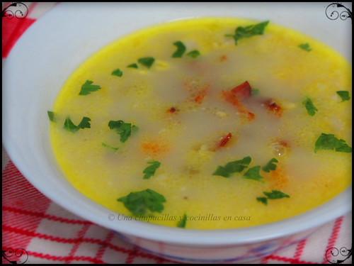 Sopa de pollo casera / Homemade chicken soup | by Una chapucillas y cocinillas en casa