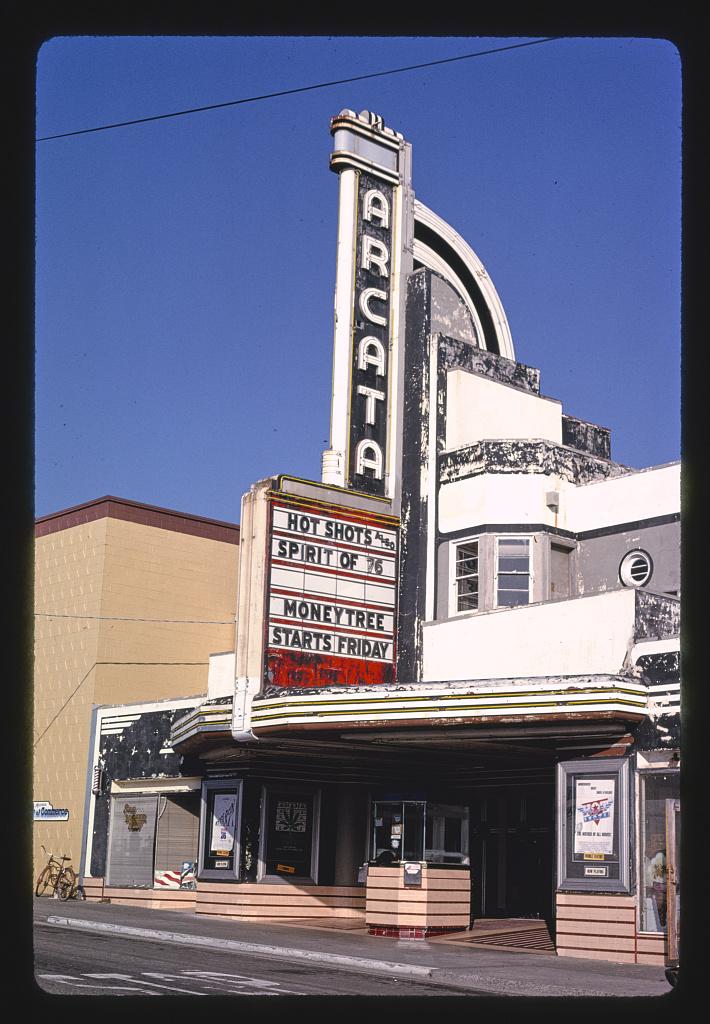 Arcata Theater, G Street, Arcata, California (LOC)