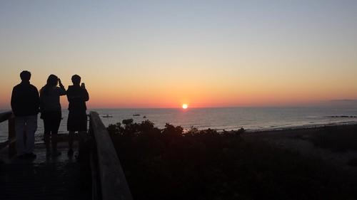 artblackburn sandwich sunrise boardwalk massachusetts capecod capecodbay family beach