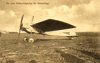 The Brand New Fokker M 5 Long Wing Version Which Was Rolle Flickr