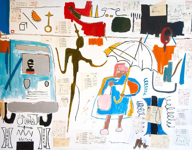 Jean Michel Basquiat, Gua-Gua, Benesse House Museum, Naoshima