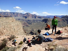Grand Canyon - South Kaibab Trail, at Skeleton Point