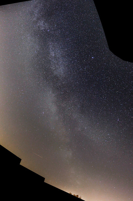 Pre-dawn Milky Way Panorama from Oxfordshire 20/04/18