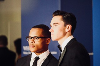 Zion Kelly and David Hogg at the White House Correspondents Dinner | by Joe in DC