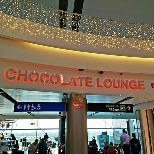 That sounds like the place for me! #travel #airport #chocolate #lounge #dublin #jetlag