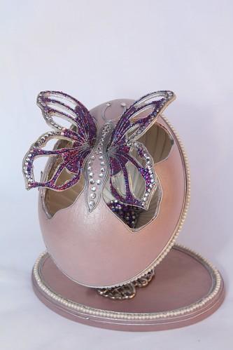 Huevo Fabergé - Mariposa   by Eduardo_T2i