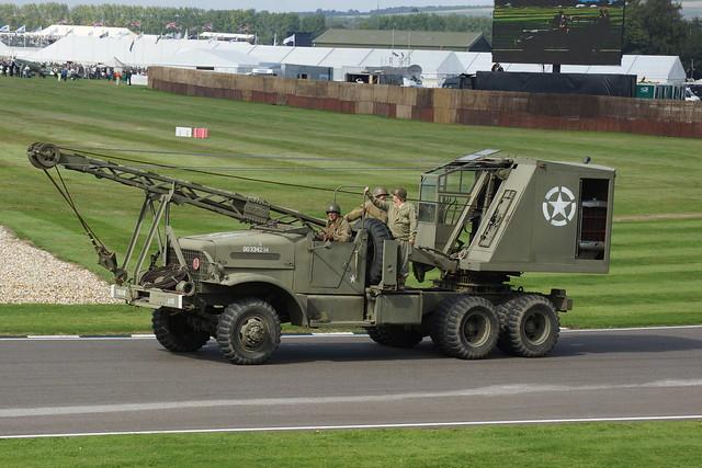 World War II Parade, 75 Years of RAF Westhampnett, Goodwood Revival Meeting (22)