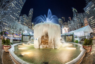 Bryant Park Frozen 2015 New York City Winter | by Anthony Quintano