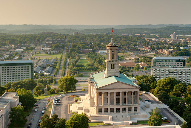 Tennessee Capitol Building, Nashville, Tennessee