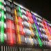 Lyon Novotel Confluence at Night by seattlerachel