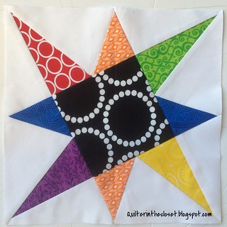 Tilted Star block | by Newbie Jen