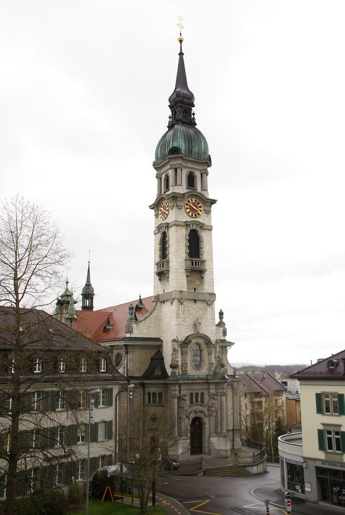 Frauenfeld - ST. Nikolauskirche   Amt für Denkmalpflege