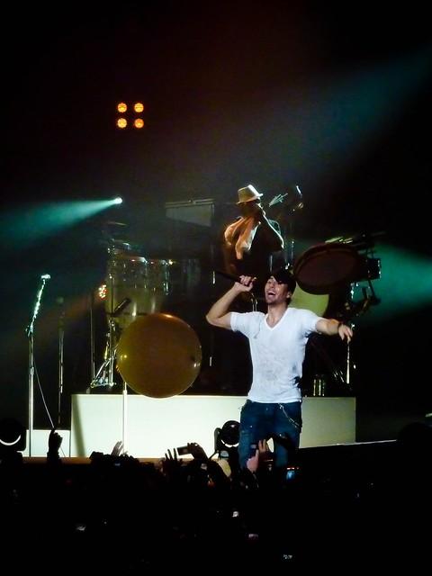 Enrique Iglesias - Euphoria World Tour - Zénith, Paris (2011)