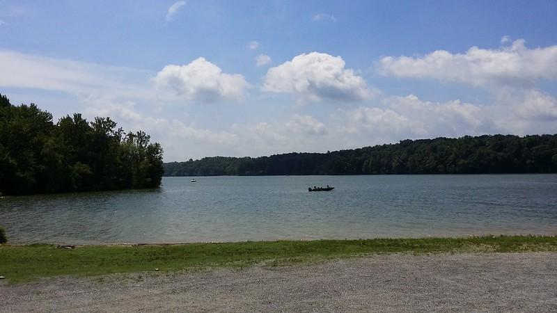 Summer Fishing on Kentucky Lake
