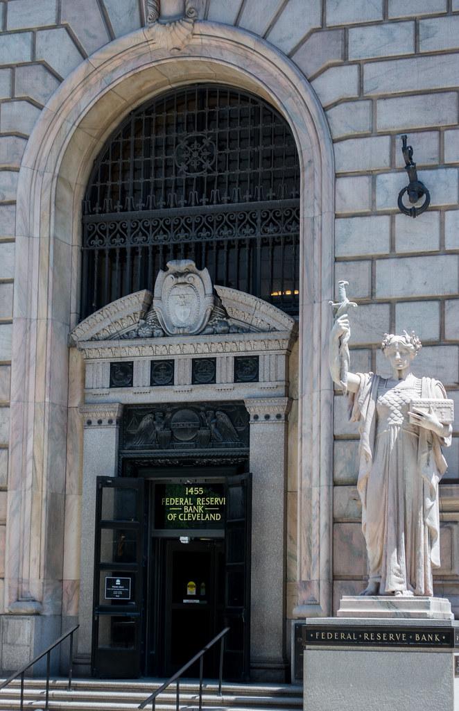 Security and entrance - Cleveland Federal Reserve Bank | Flickr