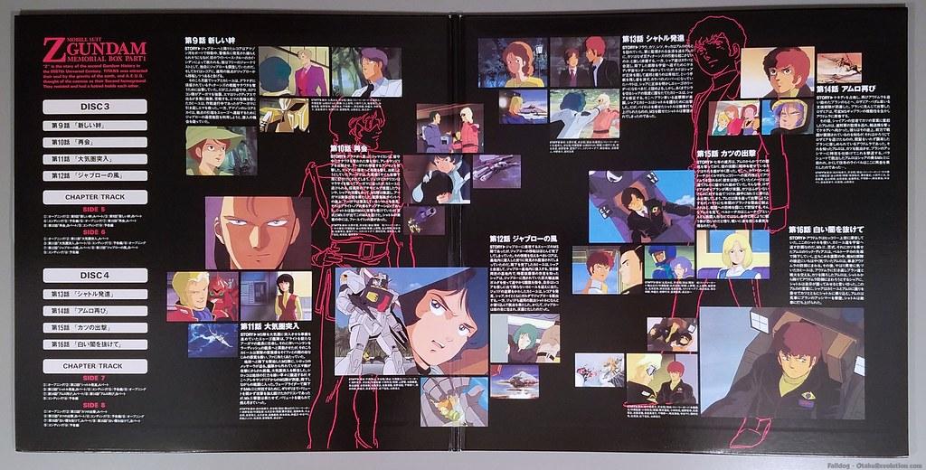 Zeta Gundam Laserdisc Box Set I 10