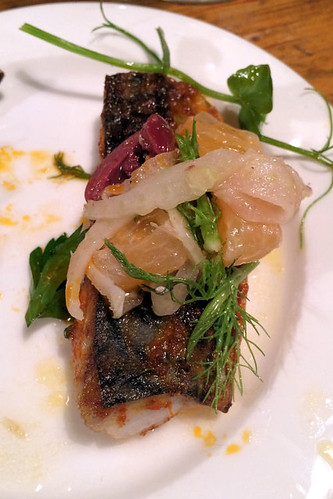 Kilmore Quay Mackerel with Moroccan spices, fennel, olive and orange  IMG_3522 R | by nicisme