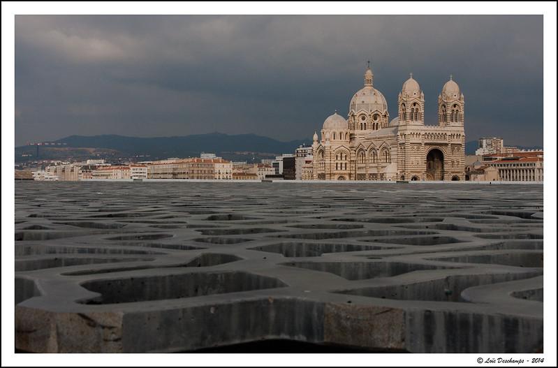 Cathédrale La Major (vu du Mucem)