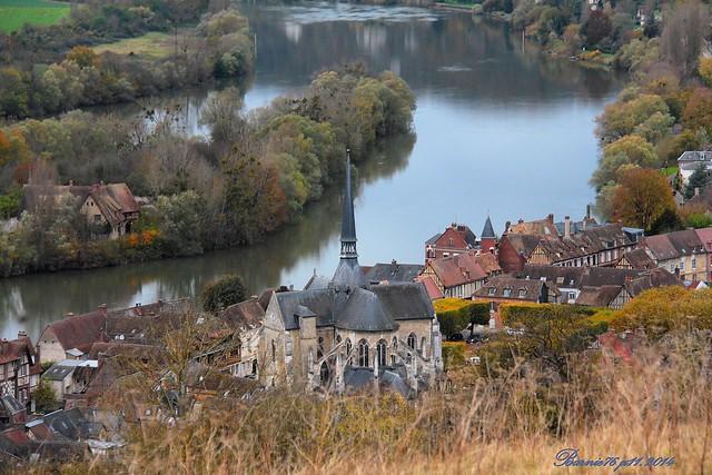 Village du Petit Andely ,Version no 2