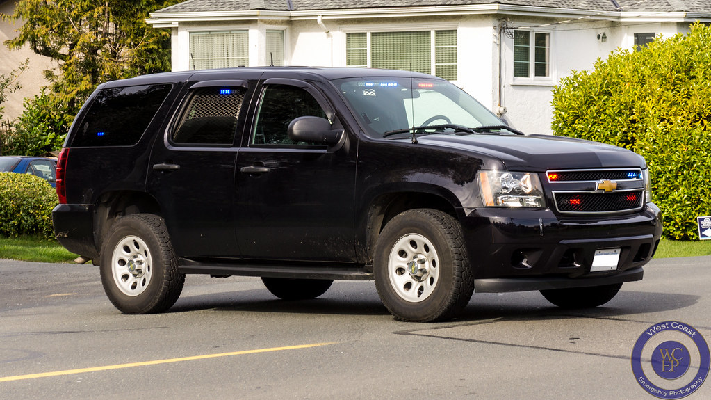 Saanich Police Unmarked Chevy Tahoe K9 Unit Please Subscri