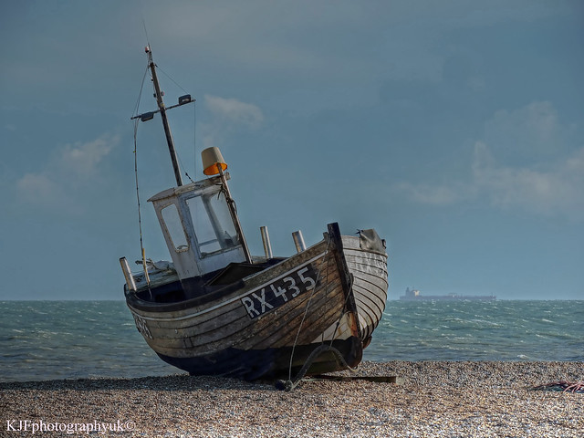 Fishing Boat RX435, Dungeness, Kent