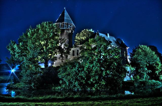 Burg Linn Nachts