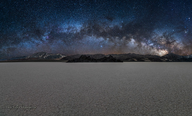 Milky Way over the Death Valley Playa...