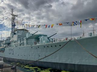 HNS Cavalier, the world's last surviving WWII destroyer, n…   Flickr