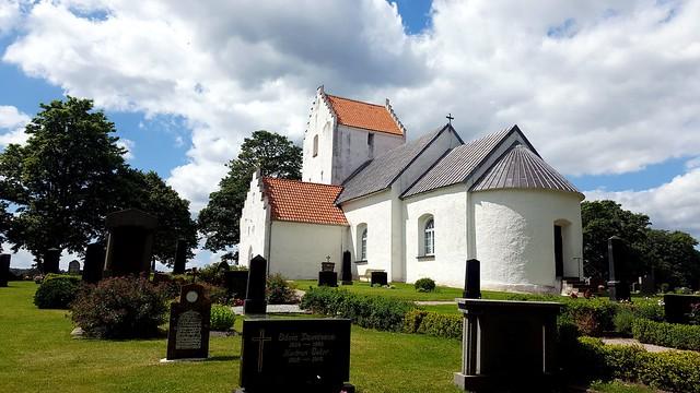 Ravlunda church, Sweden