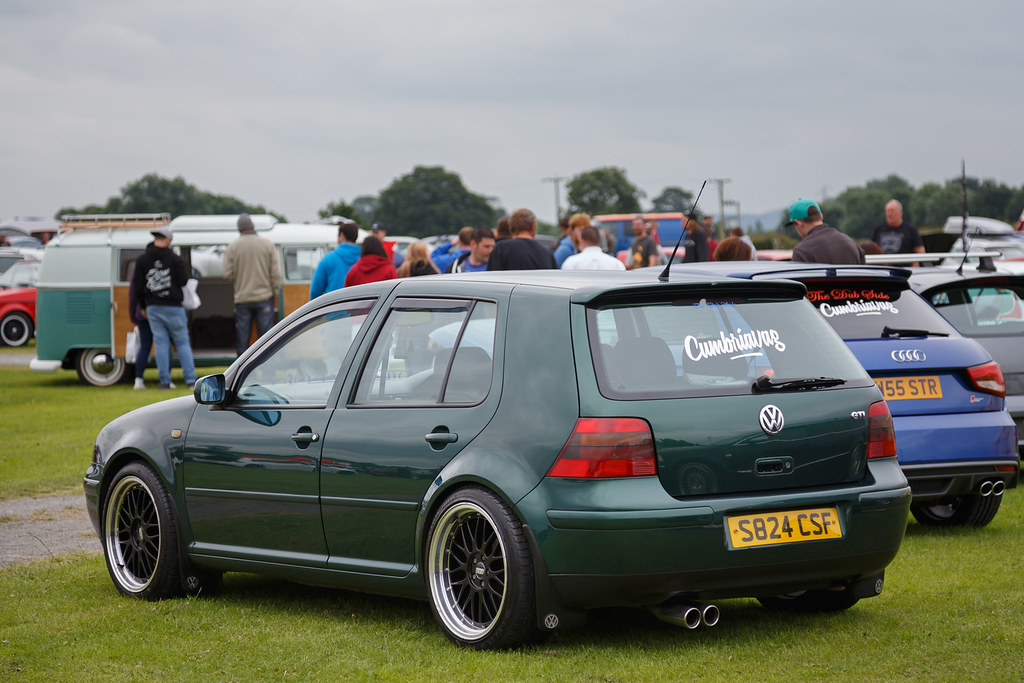 Vw Golf Gti Green 1998 Volkswagen Golf Gti S824 Csf Se Flickr