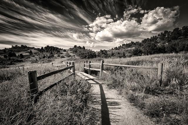 a garden path to the sky