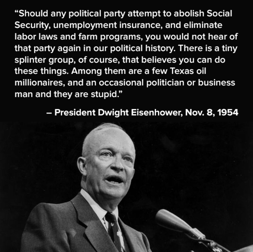 From Eisenhowers Military Industrial >> A Meaningful Quote From President Eisenhower November 8 Flickr