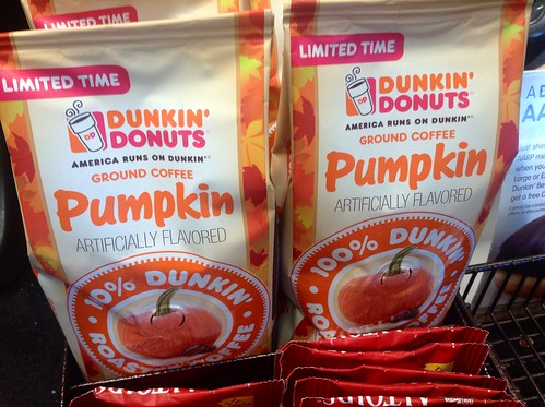 Dunkin Donuts Pumpkin Spice Coffee | by JeepersMedia