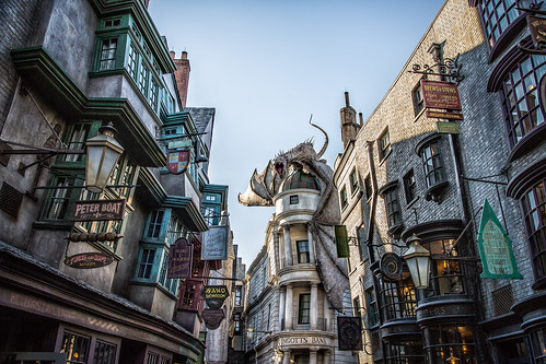 Diagon Alley | by Brett Kiger
