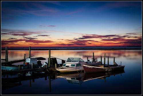light lightpainting docks sunrise boats pier florida coastal fl oyster eastpoint apalachacola appalachacola