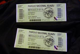 Parque Nacional Iguazú Ticket / Entradas | by TiempoDeAventuras.com