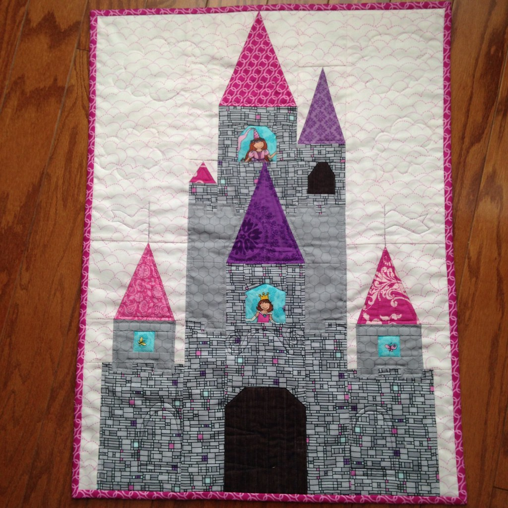 Fairytale Castle Mini Paper Pieced Pattern By Blossom Hea