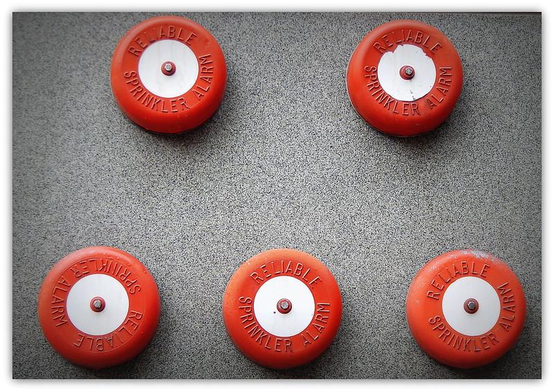Reliable Sprinkler alarms.